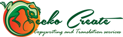 Gecko Create - Copywriting and translation services